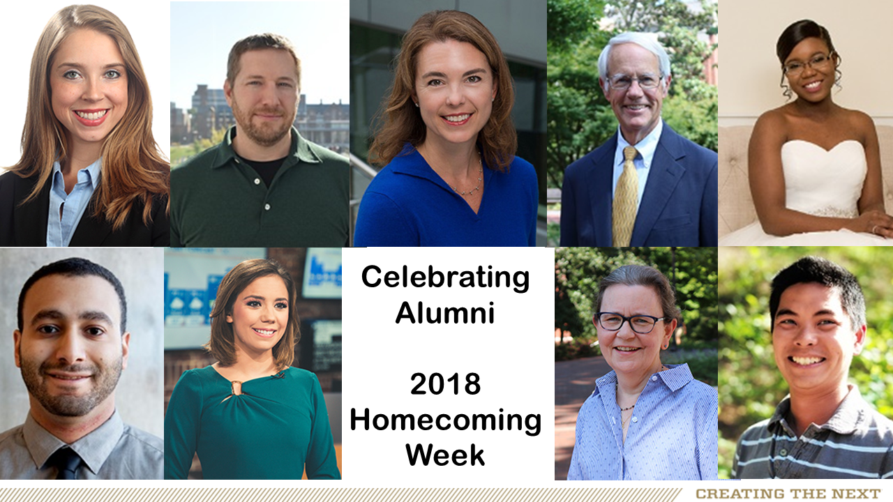 Celebrating College of Sciences Alumni, 2018 Homecoming Week