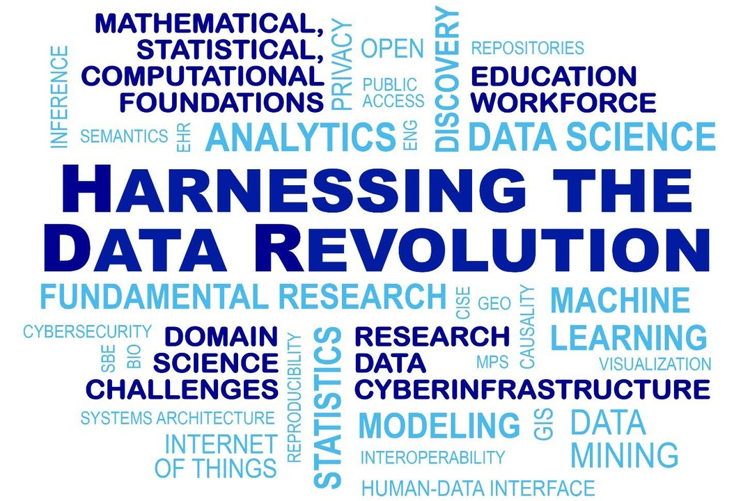 Harnessing the data revolution (Credit NSF)