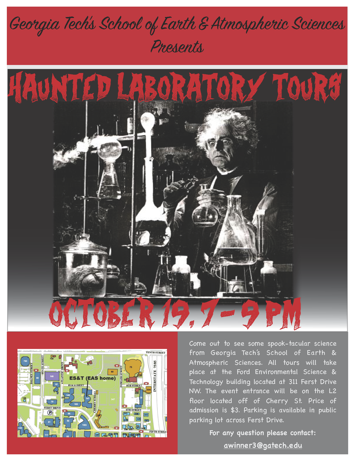 Early-Halloween Lab Tour