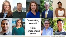 Celebrating College of Sciences Alumni, 2018 Homecoming Week