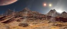 Are we alone? (Credit Alternative Earths Astrobiology Center, UCR)