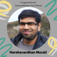 2019 SM Quiz Winner Harshavardhan Murali