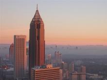 Atlanta Sunrise (Credit: https://www.flickr.com/photos/gregduckworth/298730543)