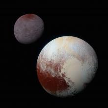 Charon and Pluto