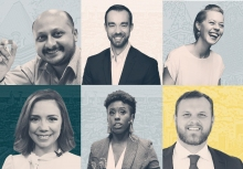 College of Sciences alumni from three schools are in this year's class of Georgia Tech Alumni 40 Under 40.