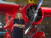 Ellen Stofan, PhD, Director of the Smithsonian National Air and Space Museum. (Credit: Jim Preston, Smithsonian National Air and Space Museum)