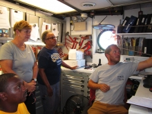 AMP-IT-UP Teachers Participate in Gulf of Mexico Research Expedition