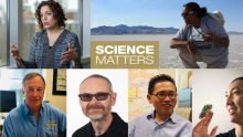Stars of ScienceMatters Season 2